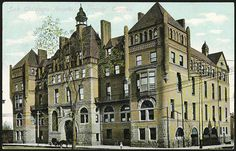 Sick Children's Hospital on University Avenue, 1910...