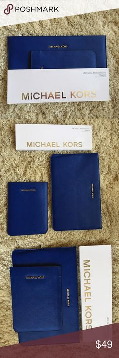 "MICHAEL KORS MACBOOK AIR 11"" + IPAD MINI SLEEVE NWT Slim design, padded construction for added protection MICHAEL Michael Kors Accessories Laptop Cases"