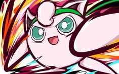 This truly expresses Jigglypuff's inner self. On the outside, she looks like a cute and cuddly Pokemon that you want to squeeze to death, when really, she is a ninja. Am I right?