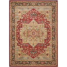 Safavieh Mahal Natural/ Navy Rug (8' x 11') - Overstock™ Shopping - Great Deals on Safavieh 7x9 - 10x14 Rugs