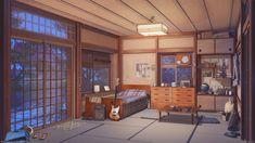 night anime background artstation scenery backgrounds landscape animation visual novel arseniy chebynkin money episode roll rock