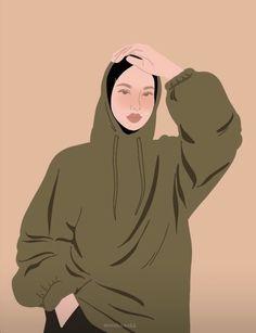 Hijab Drawing, Hijab Cartoon, Mother Art, Instagram Photo Editing, Planner Book, Beauty Art, Cartoon Art, Cute Wallpapers, Illustration Art