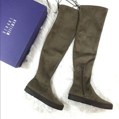eb16fa6343a Stuart Weitzman Playtime Over the Knee Boot 7.5 NIB Stuart Weitzman  Playtime Over the Knee Boot
