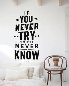 Quote Wall Decals-Saying wall decal-Dorm decals-Quote vinyl decal-Lettering wall decal-Motivation quote decal-Vinyl stickers-For bedroom by FantasticWallArtShop on Etsy quotes classroom quotes decals quotes decals kitchen quotes decals office Office Wall Design, Office Wall Decals, Wall Decals For Bedroom, Office Walls, Positive Quotes, Motivational Quotes, Inspirational Quotes, Bedroom Quotes, Entrepreneur Motivation