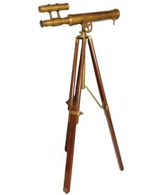 Prop It Up Antique Brass Binocular With Teak Wood Stand, http://www.snapdeal.com/product/prop-it-up-antique-brass/1036853492