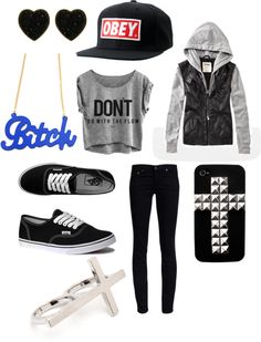 """""""Don't Go With The Flow"""" by justemmatoday on Polyvore"""