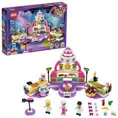 LEGO 41393 Friends Baking Competition Playset with Toy Cakes, Cupcakes and Stephanie Mini Doll for 6 + Year Old Lego Duplo, Lego Ninjago, Creative Play, Creative Thinking, Lego Sets, Lego Star Wars, Legos, Lego Torte, Lego Friends Sets