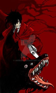 Tags: DigitalART Manga Fanart Anime Hellsing Alucard Vampire Dogs Dog