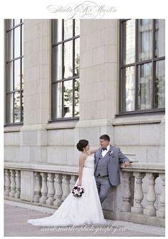 "Dan & Vero said ""I Do"" Brookstreet Hotel Ottawa - Studio G.R. Martin Photography - Ottawa wedding photographers - Brookstreet hotel wedding  - Downtown Ottawa wedding photos - Chateau Laurier wedding photos"