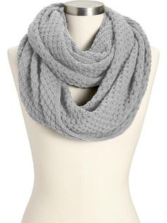 Women's Sweater-Knit Infinity Scarves Got this yesterday!  Love it