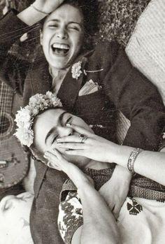 Chavela Vargas y Frida Kahlo
