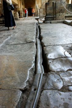 Ancient Roman lead pipes in Bath, England. I-II century CE Ancient Rome, Ancient Greece, Ancient History, Historical Artifacts, Ancient Artifacts, Roman Britain, Roman Architecture, Roman History, Roman Art