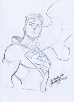 Superman - Jorge Jimenez Comic Art