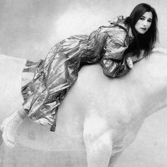 I got me some horses to ride on, to ride on / they say that your demons can't go there / so I got me some horses to ride on, to ride on / as long as your army keeps perfectly still - Tori Amos