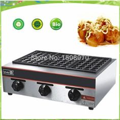 540.00$  Buy here - http://ali2lr.worldwells.pw/go.php?t=32247159011 - free shipping gas type Octopus Barbecue Plate Takoyaki Burning Board Cake Pans