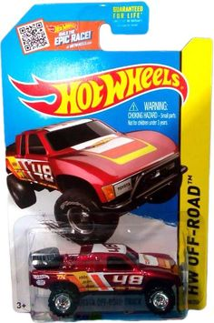 the Lamley Group: Just Unveiled: Hot Wheels Toyota Baja Truck Super Treasure Hunt...