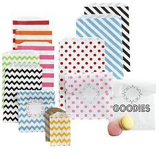Chevron, Stripe, Polka Dot Party Bags - Mark and Graham