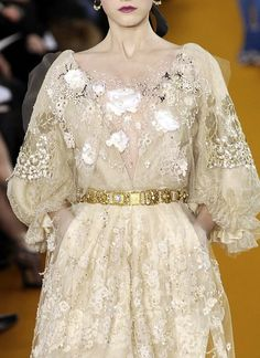 Christian Lacroix Haute Couture Spring 2008 Fashion Photo, High Fashion, Couture Details, Christian Lacroix, Girly Girl, Couture Fashion, Feminine, Absolutely Fabulous, My Style