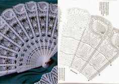 Crochet, for my soul! Crochet Diagram, Filet Crochet, Knit Crochet, Crochet Patterns, Crochet Gloves, Thread Crochet, Crochet Doilies, Lace Umbrella, Knitting Accessories
