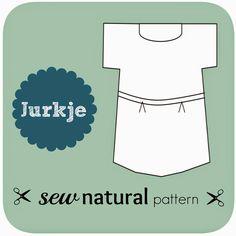 Sew Natural Blog: Patroon Variatie: van Bloesje naar Jurk