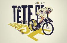 Le Tour De France — - Colin Cornwell — Design  Art Direction