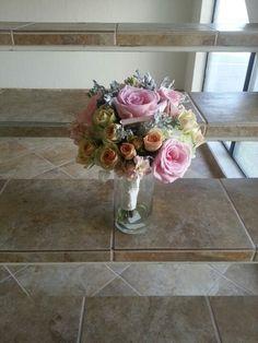 Vintage blush bouquet, by Eden's Echo