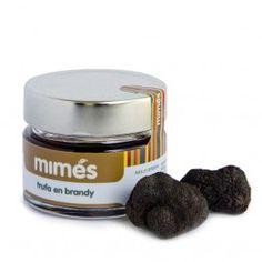 Trufa negra en Brandy - Mimés, trufados y mermeladas. Encuéntralo en http://www.elhatillo.es/mimes-graus