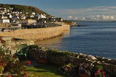 VIEW TO THE BAY | Mousehole, Cornwall     ✫ღ⊰n