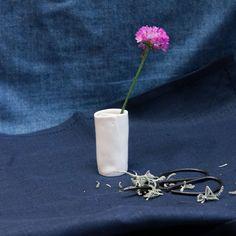 Tiny folded vase - single vase Tasmania, Candle Sconces, Wander, Artisan, Vase, Ceramics, Handmade, Gifts, Ceramica