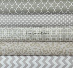 Riley Blake Fabrics 5 More Shades of Gray 1/4 Yard von hootcouture, $11.27