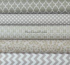 Riley Blake Fabrics 5 More Shades of Gray 1/4 Yard von hootcouture, $11.27