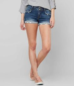 KanCan Mid-Rise Stretch Short - Women's Shorts in Rodie | Buckle