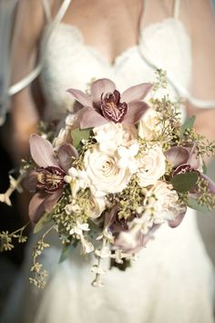 Wedding flowers purple pink orchid bouquet ideas for 2019 Purple Wedding Flowers, Wedding Flower Decorations, Bridal Flowers, Flower Bouquet Wedding, Floral Wedding, Wedding Colors, Elegant Wedding, Wedding Ideas, Wedding Photos