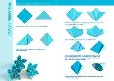 Rezultat slika za origami flowers how to
