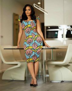African Print Dresses, African Fashion Dresses, Fashion Outfits, African Wear, Ankara Long Gown Styles, Latest Ankara Styles, Ankara Dress Designs, Ankara Clothing, Ankara Skirt And Blouse