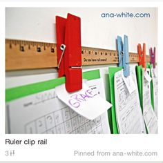 Classroom or home display for kids schoolwork.