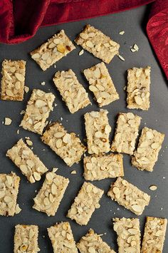 Almond Club Cracker Toffee recipe is salty crackers coated in a sweet caramel toffee sauce and covered with almonds. This will be your new favorite easy Christmas and holiday snack!