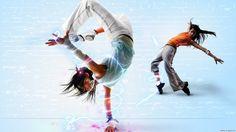 Hip Hop Girl Dance Background HD Wallpaper