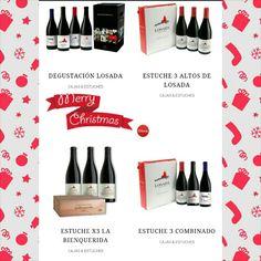 Nuestros estuches de #navidad #delux #depecado #vino #mencia #Bierzo