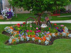 Rosas plantas de todos os tipos, troca de ideias postagem de fotos.: Mais algumas fotos da net de jardim e personagens feitos com aboboras e legumes depois colocarei mais..