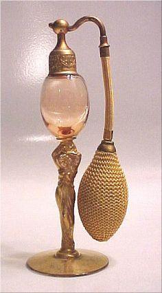 Vintage 1926 #perfume spray bottle. (Perfume Bottle Spray)