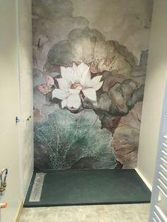 N/A Mural Art, Wall Murals, Wc Decoration, Bedroom Decor, Wall Decor, Paint Colors For Living Room, Interior Design Living Room, Kitchen Interior, Room Interior