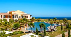 Cascade Wellness & Lifestyle Resort - Overlooking the mysterious enchanting cliffs of Ponta da Piedade, #Portugal...