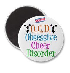 OCD = Obsessive cheer disorder <3 www.soffe.com