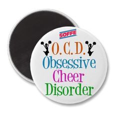 OCD = Obsessive cheer disorder <3 www.soffe.com