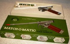 The Match-o-Matic.  Just the thing to use to fire up your cigar when you've been pulled over for speeding.