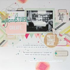 Pretty things inside - Scrapbook.com