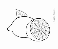 "Lemons fruits coloring pages for kids, printable free Lam ""ل"" laymoon, lemon,ل. - fruits and vegetables - Fruit Coloring Pages, Coloring Book Pages, Coloring Sheets, Free Coloring, Coloring Pages For Kids, Adult Coloring, Kids Coloring, Lemon Crafts, Fruits Drawing"