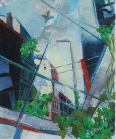 Verlassene Stadt (1) Painting, Abandoned Cities, City, Pictures, Painting Art, Paintings, Paint, Draw