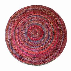Handmade Braided Rugs in multiple colors and shades created from reclaiming and recycling old cotton cloth scrap.
